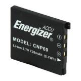 Akumuliatorius fotoaparatui Casio NP-60 Energizer EZ-CNP60 3,7V 720mAh