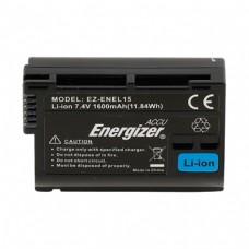 Akumuliatorius fotoaparatui Nikon EN-EL15 Energizer EZ-ENEL15 7,4V 1600mAh