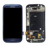 LCD+Touch screen Samsung i9300 Galaxy S3 blue originalas