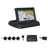 Parkavimo sistema PAS304C 4 davikliai, LCD ekranas
