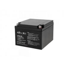 Švino akumuliatorius 12V 24Ah (180x75x166mm) MaxPower  Pb