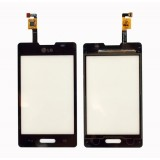 Touch screen LG E440 Optimus L4-2 black originalas