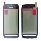 Touch screen Nokia 603 black originalas