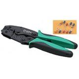 Įrankis izoliuotų antgalių (AWG:10-22) apspaudimui 6PK-301H Pro'sKit