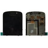 LCD+Touch screen BlackBerry Q10 black originalas