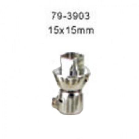 Antgalis karšto oro litavimo stotelių ZD-912/ZD-982/ZD-939 lituokliams 15x15mm