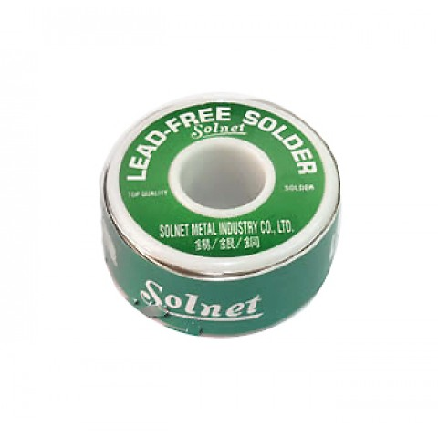 Lydmetalis 1,0mm 250g 96,5Sn/3,5Ag 2,5% fliuso Solnet