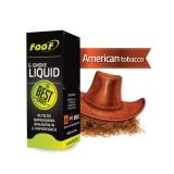 Elektroninės cigaretės užpildas (E-skystis) FooF Liquid American tobacco medium 10ml