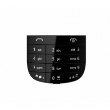 Klaviatūra Nokia 202 Asha black originalas/HQ