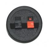 Kolonėlių lizdas su 2 prispaudžiamais kontaktais Ø55mm