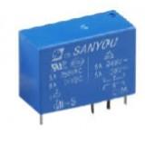 Relė SMI-S-212D (12VDC 5A/250VAC 200R 2U) SANYOU V-SMIS212D