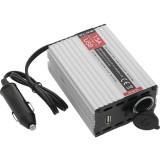 Įtampos keitiklis 24-12V 15A USB 500mAh Blow