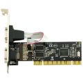 Kontroleris Multi I/0 PCI interface card, 2xCOM (serial), Mossnet 9865 chipset
