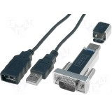 Adapteris USB-RS232 Digitus