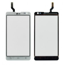 Touch screen LG D605 Optimus L9-2 white originalas