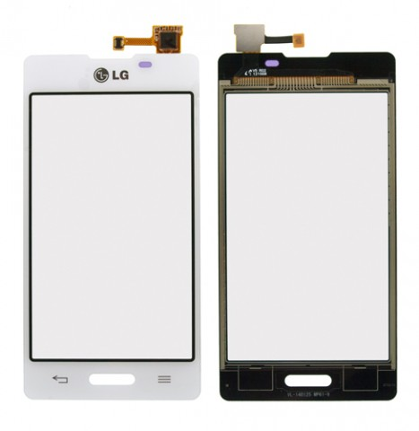 Touch screen LG E460 L5-2 white originalas