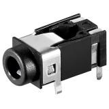 Lizdas 3,5mm lituojamas į plokštę stereo