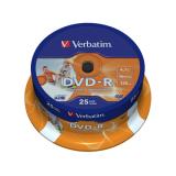 Įrašomas diskas Verbatim DVD-R 4.7GB 16X