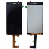 LCD+Touch Huawei Ascend P7 black originalas