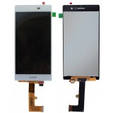 LCD+Touch Huawei Ascend P7 white originalas