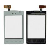 Touch screen LG E420 white originalas