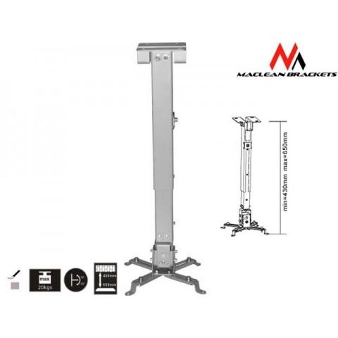 Laikiklis projektoriui universalus Maclean MC-581 43-65cm 20kg