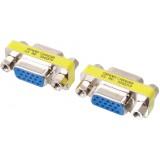 Perėjimas-sujungimas VGA-VGA (L-L) mini GCHD-FF15P