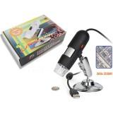 USB Skaitmeninis mikroskopas 640x480piks