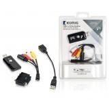 Vaizdo signalo keitiklis iš analoginio į skaitmeninį USB 2.0 Konig