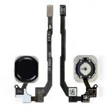 Home button flex iPhone 5S black originalas