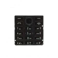 Klaviatūra Nokia 206 black originalas/HQ