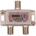 SAT-TV signalo daliklis 1>2, 5-2400MHz DC pass