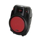 "Nešiojama garso sistema 6,5"" (16cm) 50W 55Hz - 20kHz POWER6 Ibiza Sound raudona"