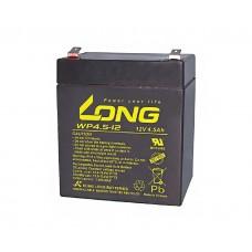 Švino akumuliatorius Long 12V 4,5Ah (90x70x101mm) Pb