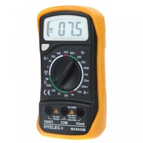 Multimetras MAS830B