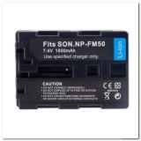Akumuliatorius vaizdo kamerai Sony NP-FM50 7,4V 1500mAh originalas