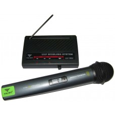 Belaidis mikrofonas su priėmimo stotimi Azusa technologies LS-105U