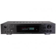 Stiprintuvas karaoke Ltc- audio ATM8000BT 4x75W+3x20W su FM, USB, SD, MP3, Bluetooth