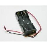 Laikiklis baterijoms 2xR03(AAA) su laidais