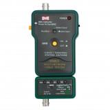 Testeris tinklo kabeliui (BNC, RJ45) Mastech MS6810