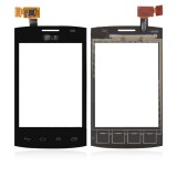 Touch screen LG E410 Optimus L1-2 black originalas