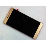 LCD+Touch screen Huawei Ascend P8 gold originalas
