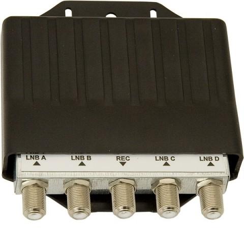 Komutatorius DISEqC 2,04x1,PTV