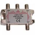 SAT-TV signalo daliklis 1>4 5-2250MHz power pass 4204T/AP