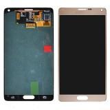 LCD+Touch screen Samsung N910 Galaxy Note4 gold originalas
