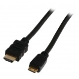Laidas HDMI - HDMI mini (K-K) 1,5m Gold  High Speed with Ethernet
