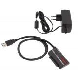 Adapteris keitiklis USB 3.0-SATA