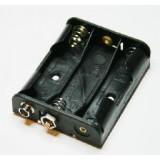 Laikiklis baterijoms 3xR6(AA)