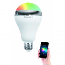 Lemputė smart LED su BT garsiakalbiu Manta DLB002