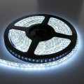 LED juosta 12V 4.8W/m hermetiška IP65 šaltai balta 1m